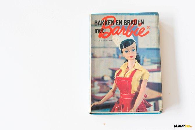 Vintage Barbie kookboek
