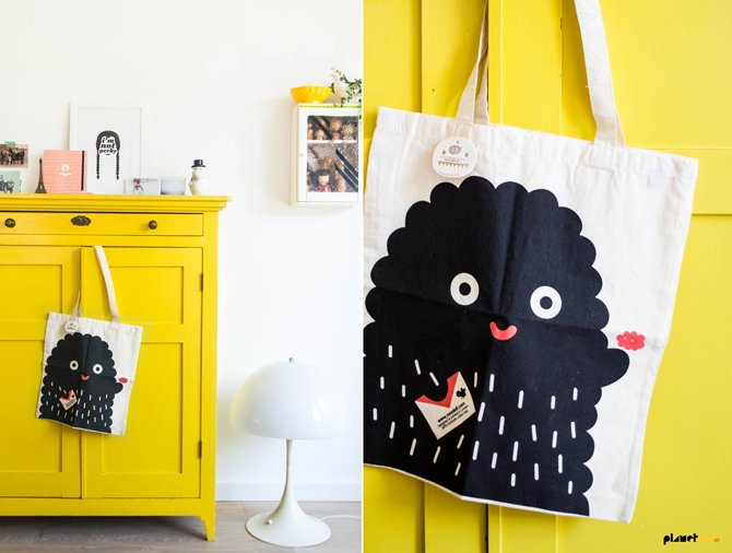Noodolls - canvas bag