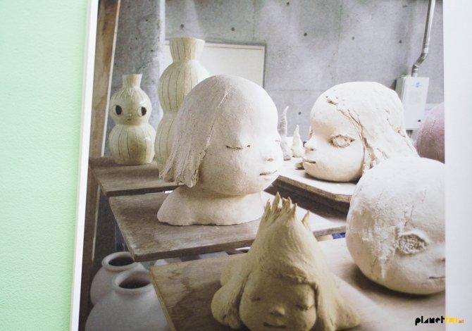Yoshitomo Nara - ceramics