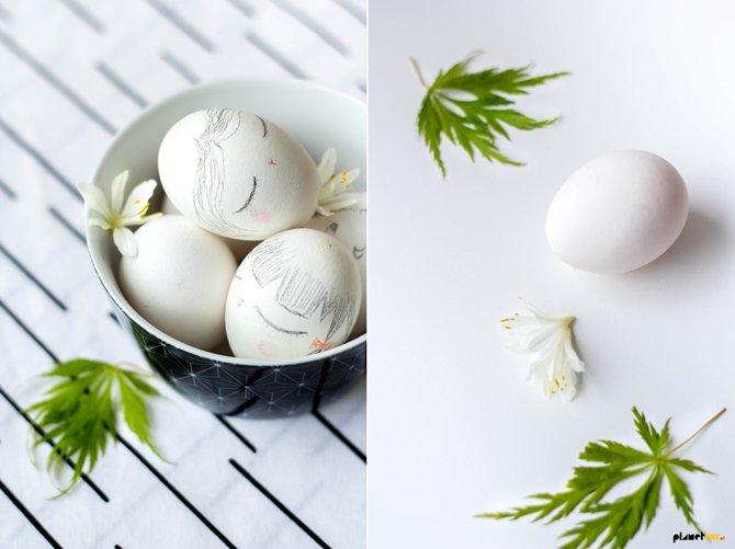 Kokeshi eggs - Planet Fur