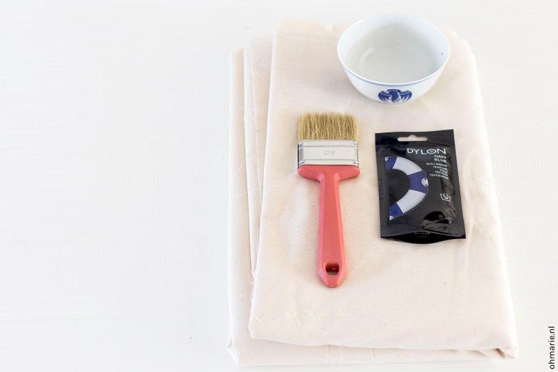 DIY dip dye wandkleed - Oh Marie!