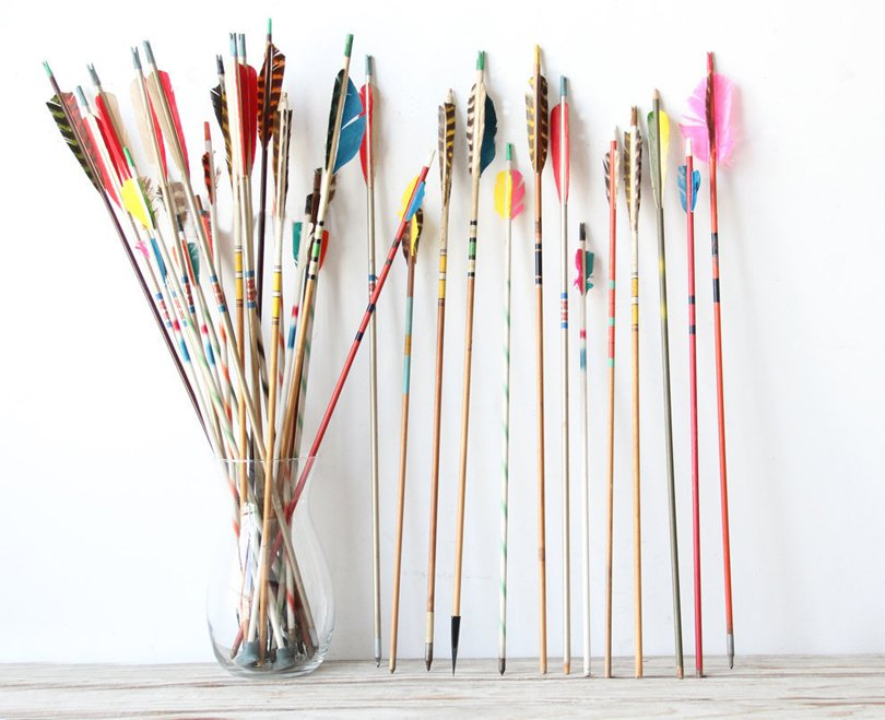 GallivantingGirls - Collection of vintage arrows - Etsy tribal favorites | Oh Marie!