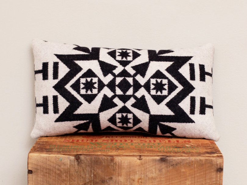 ScoutAndWhistle - Geometric Wool Pillow - Etsy tribal favorites | Oh Marie!