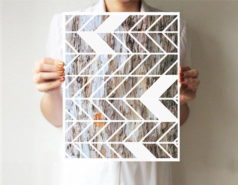 VillaVera - Geometric chevron print - Chevron - Etsy tribal favorites | Oh Marie!