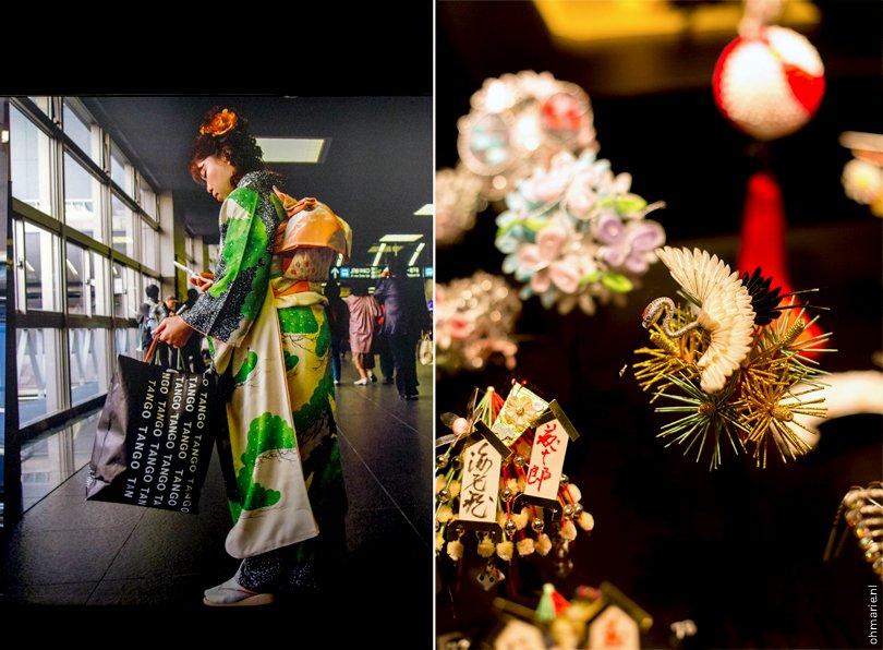 Geisha tentoonstelling - Oh Marie!