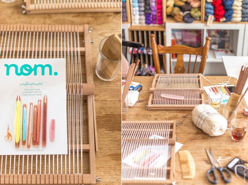 workshop weven met Nom in Amsterdam - Oh Marie!