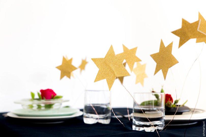 DIY Kleine Prins tafelstyling - Oh Marie!