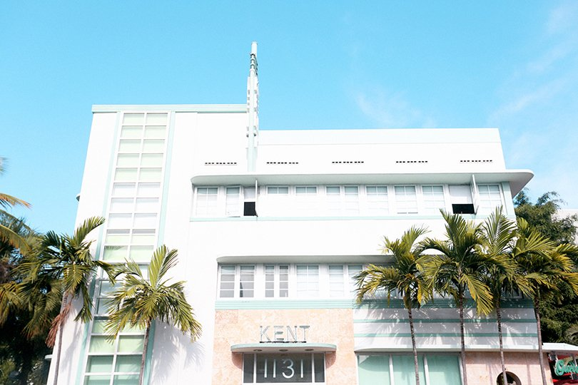 Photography by Emily Faulstich - 80's colors, Kent - Art Deco Miami - Oh Marie