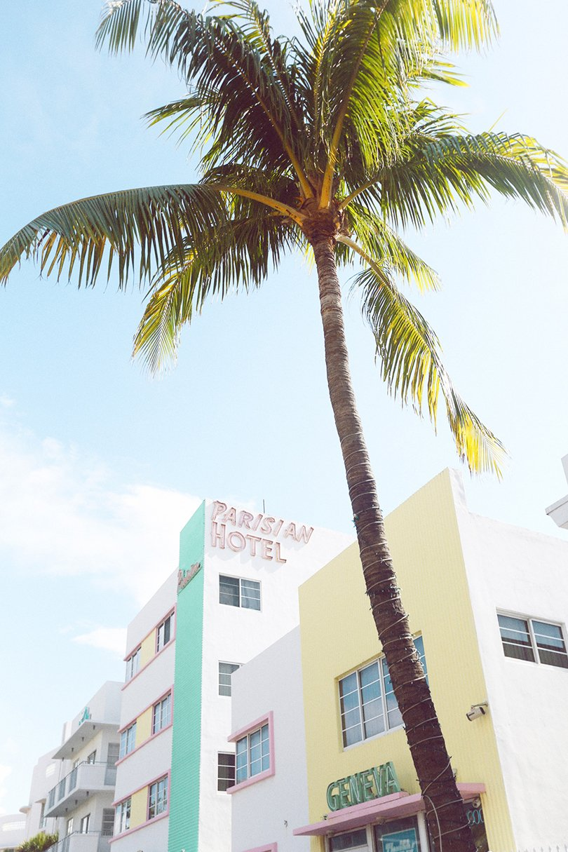 photography by Emily Faulstich - parisian hotel - Art Deco Miami - Oh Marie