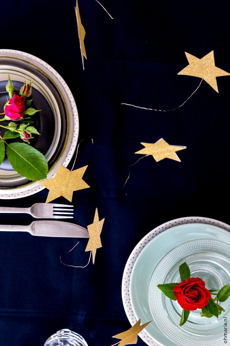 DIY tafelstuk De Kleine Prins - Oh Marie!