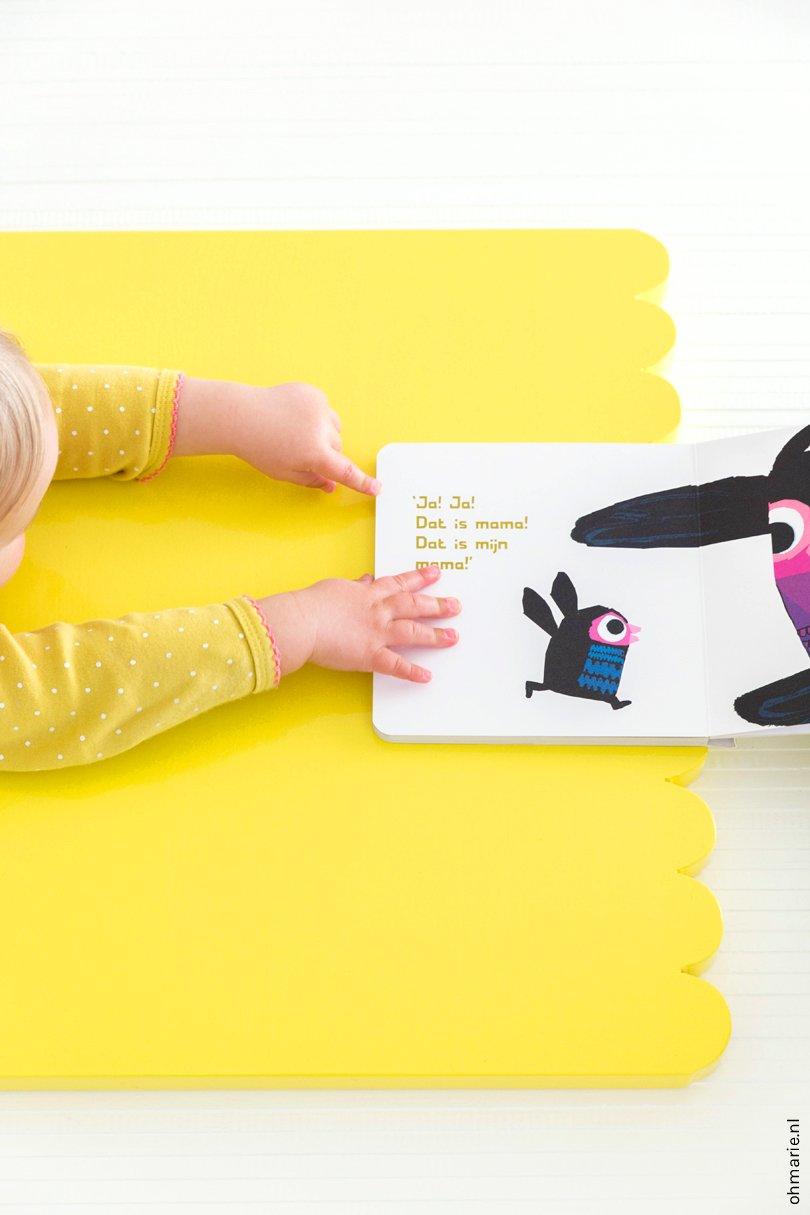 DIY Tafelblad voor kinderstoel - Oh Marie!