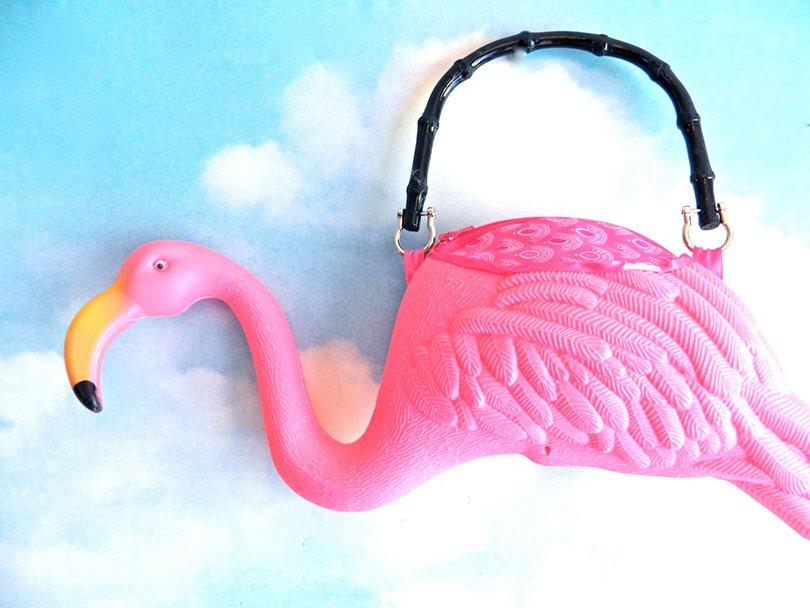 pink flamingo purse - EyeCandySugar