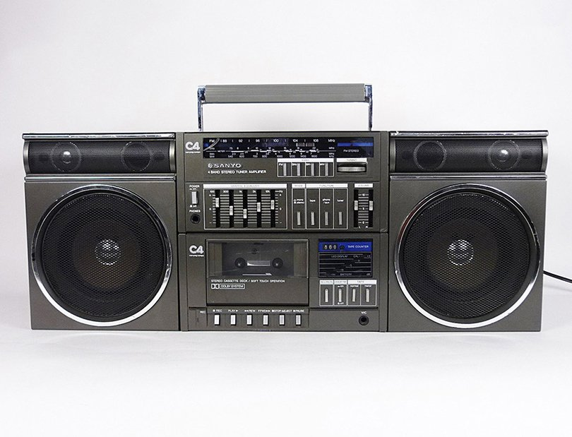 vintage boombox - hermosavintage