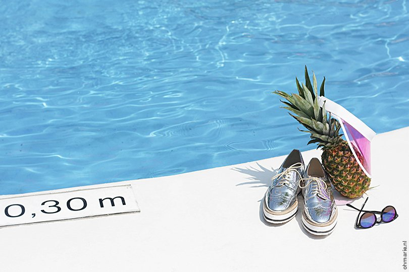 pool party - photo by Suhely Leonora - styling by Anne van Midden - Oh Marie15