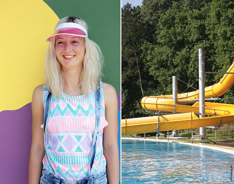 pool party - photo by Suhely Leonora - styling by Anne van Midden - Oh Marie23a