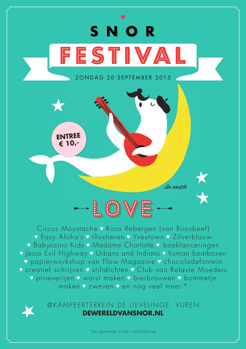 Win toegangskaarten voor het Snor Festival!