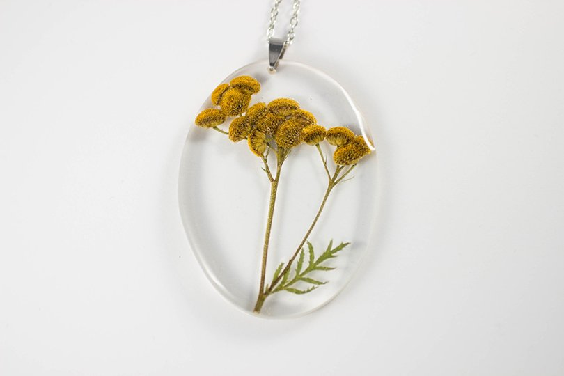 Tansy Botanical Jewelry - MossoftheWoods on Etsy