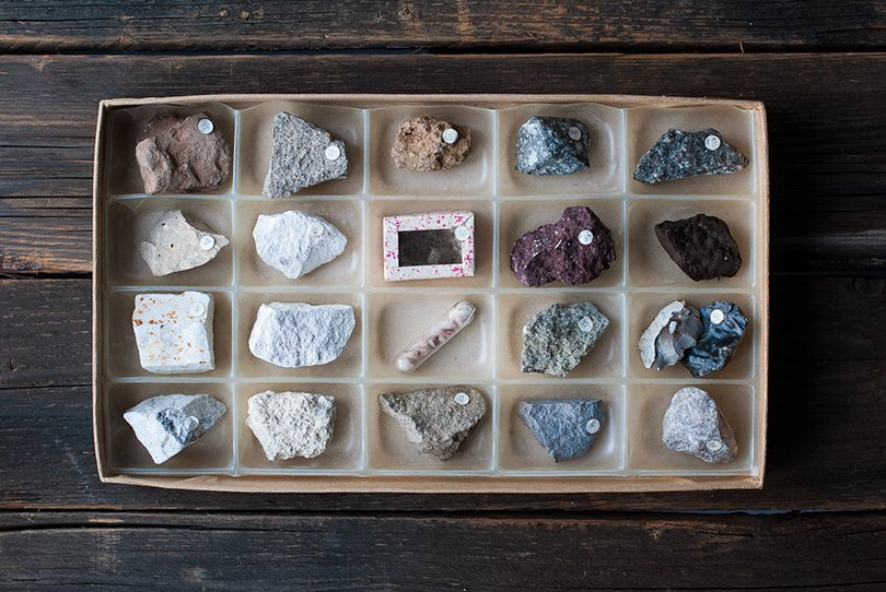 Vintage Rocks and Mineral Collection - OldTimeStories on Etsy