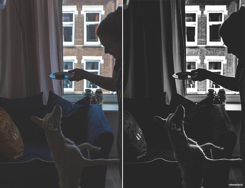 Zwart-wit fotografie - Oh Marie!