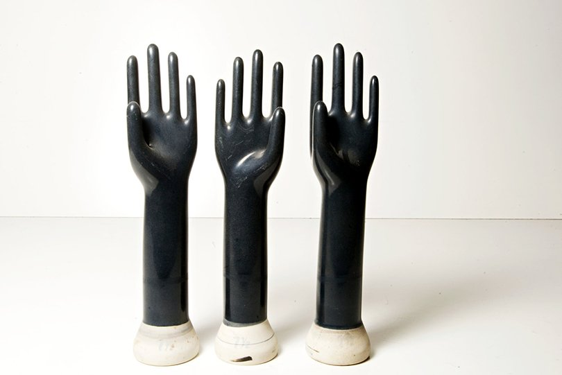 vintage glove molds - thetreschicshop on etsy