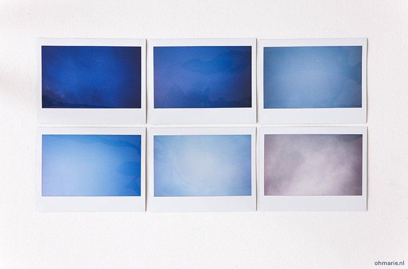 Fotoinspiratie Polaroid camera - Oh Marie!