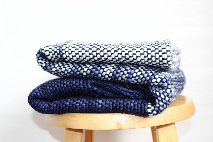 Wool Sofa Blanket - texturabledecor on etsy