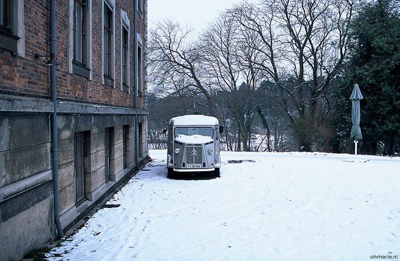 Winterblues - analoog Kopenhagen - Oh Marie!