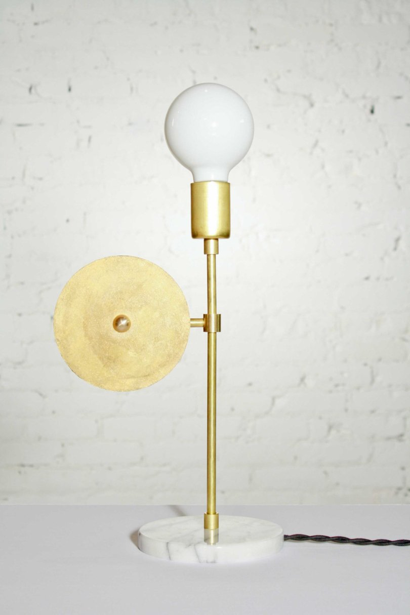 memphis style etsy finds - gymnastes - midcentury tablelamp