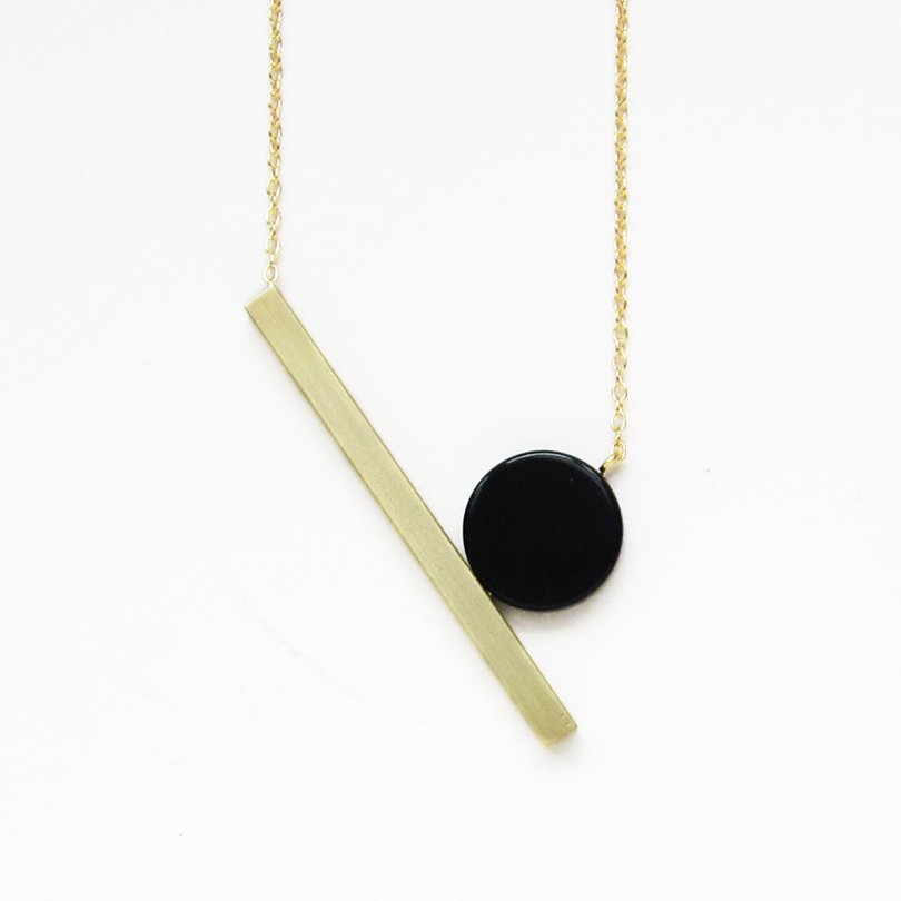 memphis style etsy finds - sewasong - laia necklace
