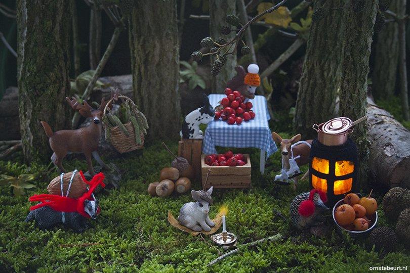 Diorama Winter Harvest - Omstebeurt voor Oh Marie!