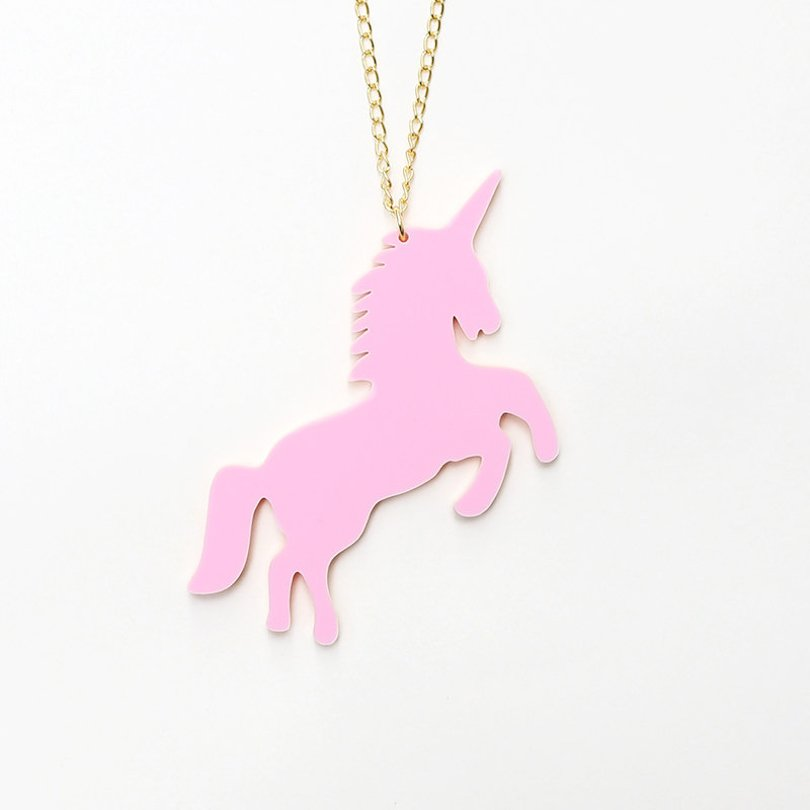 JuleetLily - unicorn necklace - Etsy