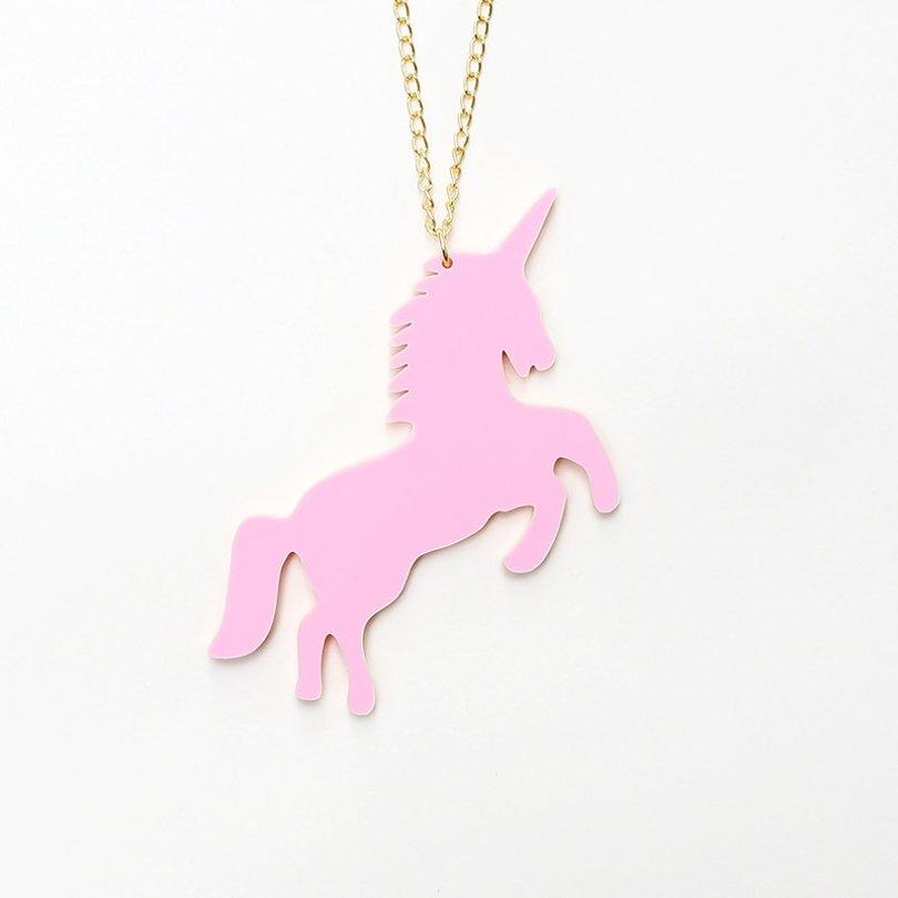 JuleetLily - unicorn necklace - Etsy