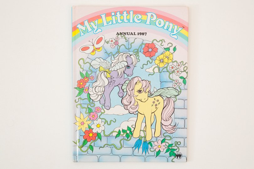 PenelopeCatVintage - my little pony annual - Etsy