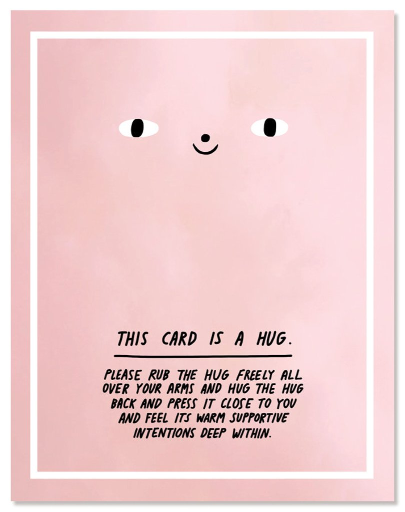 laurageorge - this card is a hug - Etsy