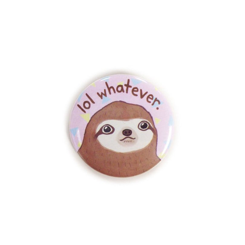thesparklecollective - sloth button - Etsy