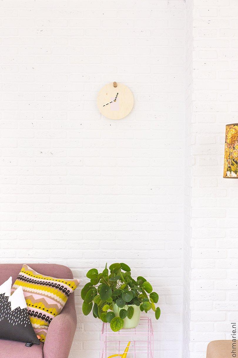 DIY clock - Oh Marie!